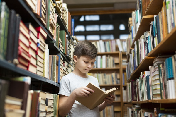 How can you instil the value of reading using second-hand kids' books?