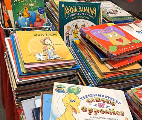 Online portals for pre-loved children's books in India and a list of some of the bestselling importe