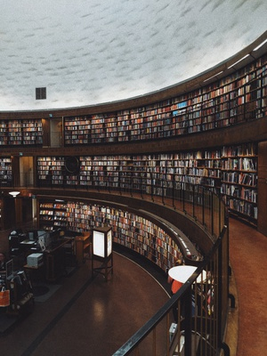 No spot will overcome the appropriateness of a library when you need to study