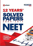 12 Years Solved Papers Cbse Aipmt  Arihant Experts detail