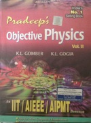 Pradeep S Objective Physics For Neet Volume 2 Klgomber Kl Gogia detail