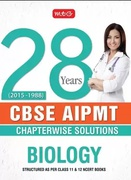 28 Years Cbse Aipmt Chapterwiswe Solutions Biology - Mtg