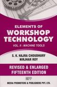 Elements Of Workshop Technology Volume Ii Hajra Choudhury Ak Hajr Achoudhury Nirjhar Roy detail