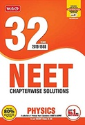 32 Years Neet-Aipmt Chapterwise Solutions - Physics 2019 - Mtg Editorial Board