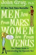 Men Are From Marswomen Are From Venus John Gray detail