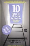 Ten Rules For Strategic Innovators Govindarajan Trimble detail