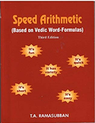 Speed Arithmetic Based On Vedic Word-Formulas - Ta  Ramasubban