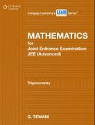 Mathematics For Joint Entrance Examination Jeeadvanced Trigonometry G Tewani detail