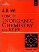 Jd Lee Concise Inorganic Chemistry For Iit-Jee Sudarsan Guha detail