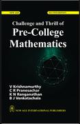 Challenge And Thrill Of Pre-College Mathematics V Krishnamurthycr Pranesachar Kn Ranganathan Bj  Venkatachala detail
