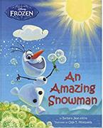 Disney Frozen An Amazing Snowman Barbara Jean Hicks detail