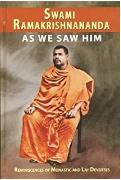 As We Saw Him Swami Ramakrishnannanda detail