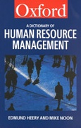 A Dictionary Of Human Resource Management None detail