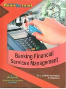 Banking Financial Services Management - Drjesther Gnanapoo A Rajamani