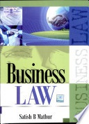 Business Law Satish B Mathur detail