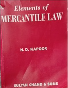 Elements Of Mercantile Law Nd Kapoor detail