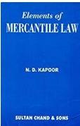 Elements Of Merchantile Law Nd Kapoor detail