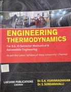 Engineering Thermodynamics Dr Gk Vijayaraghavan Drs Sundaravalli detail