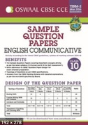 English Communicative Class 10 Term 2 Sample Question Papers March 2017  Cce Cbse - Oswaal