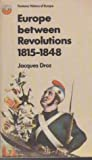 Europe Between Revolutions 1815-1848 Fontana History Of Europe None detail