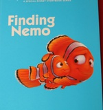 Finding Nemo Read Along Story Disney detail