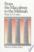 From The Maccabees To The Mishnah Library Of Early Christianity Cohen Shaye J D  detail