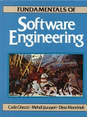 Fundamentals Of Software Engineering Ghezzi CarloEtc  detail