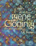 Gene Cloning An Introduction Brown T A  detail