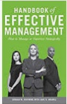 Handbook Of Effective Management How To Manage Or Supervise Strategically Donald W Huffmire detail