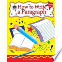How To Write A Paragraph Grade 3 To 5 Null Kathleen detail