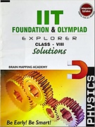 Iit Foundation&Olympiad Explorer Class 8 Physics Solution - Brain Mapping Academy