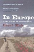 In Europe Travels Through The Twentieth Century None detail
