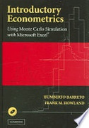 Introductory Econometrics Using Monte Carlo Simulation With Microsoft Excel None detail