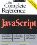 Javascript The Complete Reference None detail