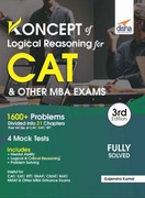 Koncepts Of Lr - Logical Reasoning For Cat  - Gajendra Kumar