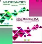 Mathematics Class 12 Set Of 2 Vols Rd Sharma detail