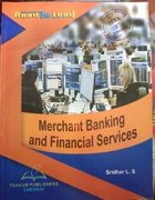 Merchant Banking And Financial Services - Sridhar  L S