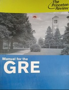 Manual For The Gre - The Princeton Review