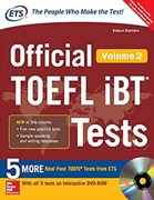 Official Toefl Ibt Tests  Vol 2 With Dvd Educational Testing Service detail