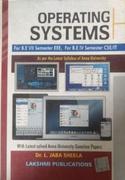 Operating Systems - Drl Jaba Sheela