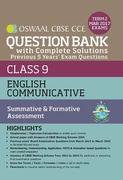 Oswaal Cbse Cce Question Bank With Complete Solutions For Class 9 Term Ii October To March 2017 English Communicative Panel Of Experts detail