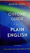 Oxford  Guide To Plain English Martin Cutts detail