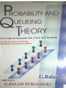 Probability And Queuing Theory  Drg Balaji detail