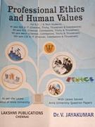 Professional Ethics And Human Values - Drv Jayakumar