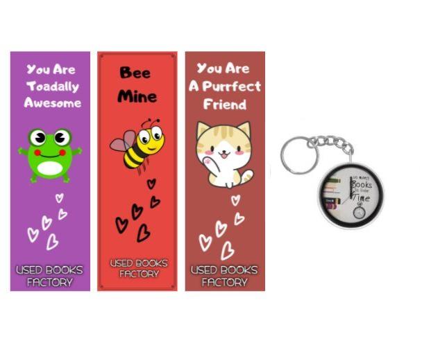 Premium Bookmarks With Book Badge - Book Merchandise