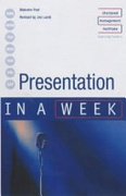 Presentation In A Week 3Rd Edition Iaw Peel Malcolmlamb Jon detail