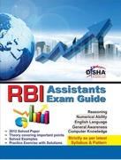 Rbi Assistants Exam Guide - Disha Experts