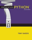 Starting Out With Python Gaddis Tony detail