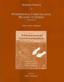 Skillbuilder Workbook For Interpersonal Communication Relating To Others Beebe Steven Abeebe Susan Jredmond Mark V  detail