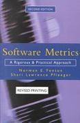 Software Metrics A Rigorous Approach None detail